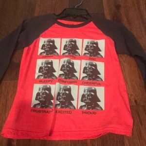 Star Wars size small long sleeve top